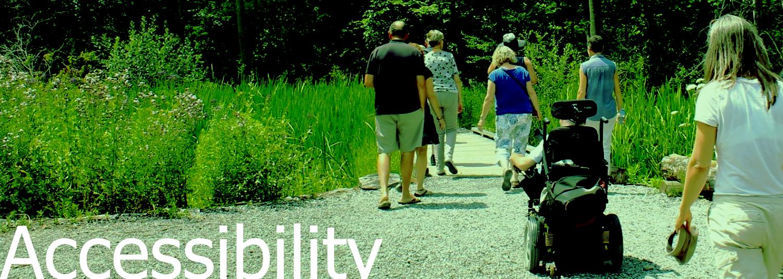 Accessibility header