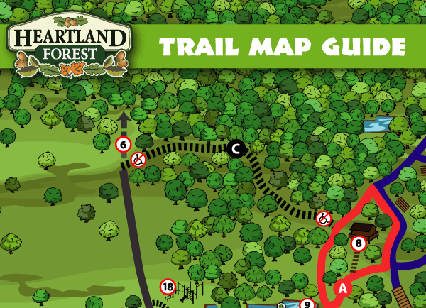 Heartland Forest Trail Map