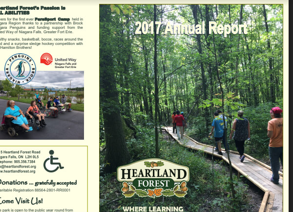 Heartland Forest Annual Reports
